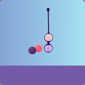 Вагинальные шарики без вибрации